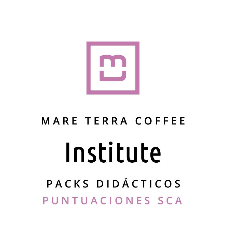 Pack de Café Didáctico Puntuaciones SCA