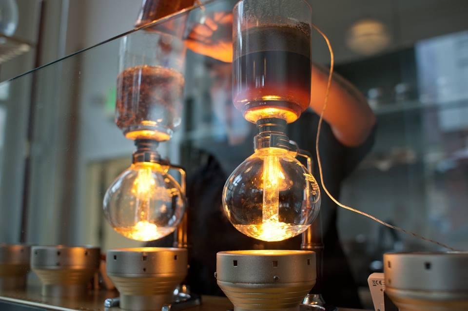 demostracion brew coffee